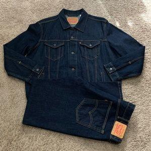 Levis Trucker Jacket XXL Jeans 83/32 Denim Suit